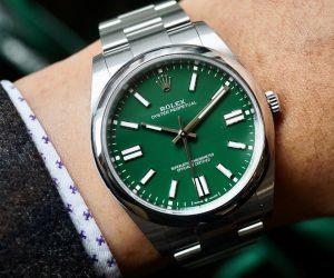 New Rolex Oyster Perpetual 36 သည်ဂျီနီဗာထုတ်လုပ်မှု၏ကြီးထွားလာသောရဲရင့်မှုကိုဖော်ပြသည်